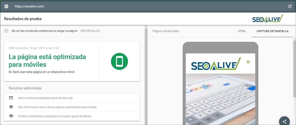 Mobile Friendly Test Google SEO
