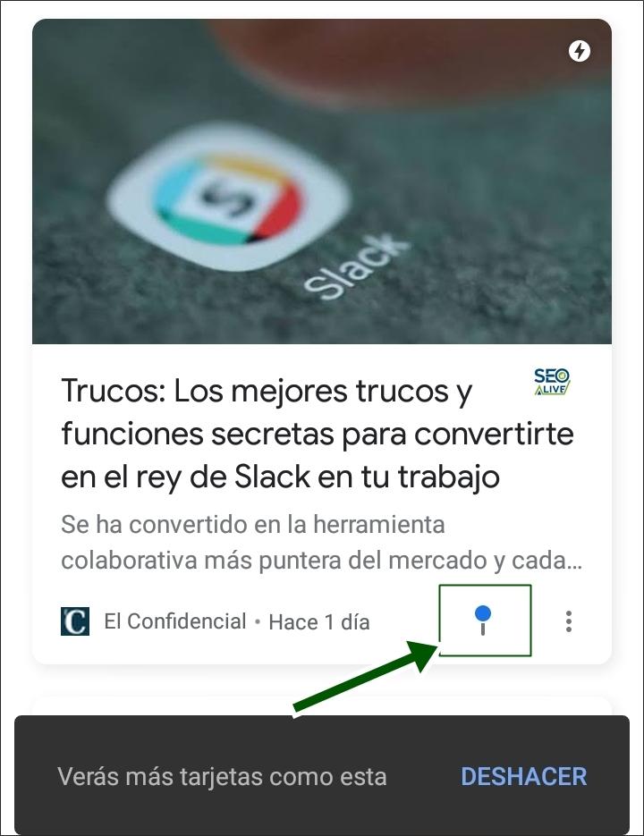 Noticias Google Discover