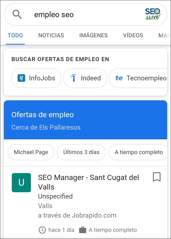 Empleos Rich Snippets