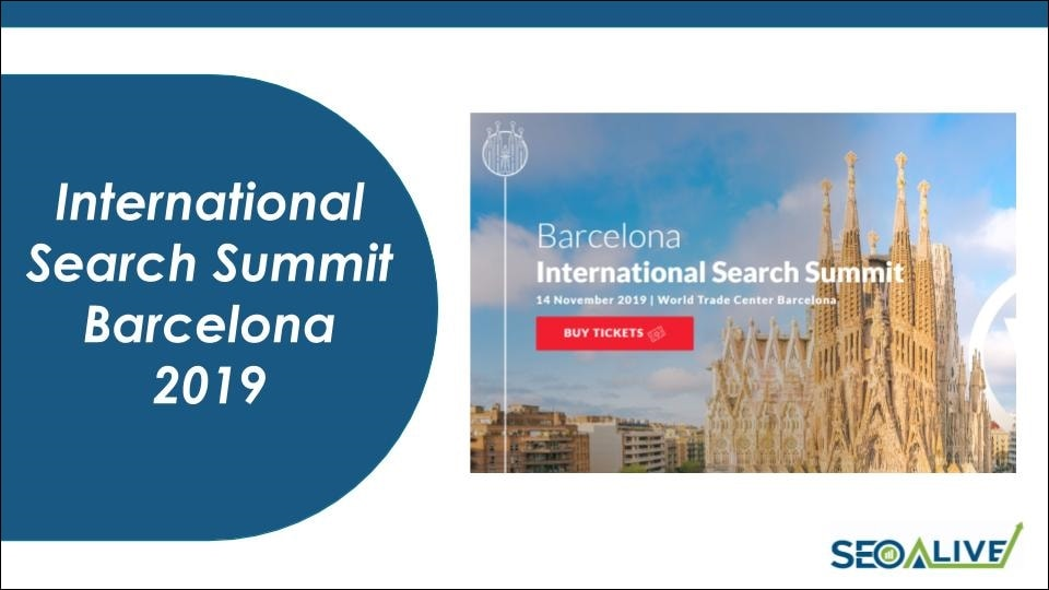 International Search Summit Barcelona 2019