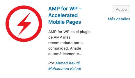 plugin para implementar amp