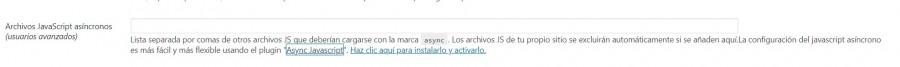carga async autooptimize