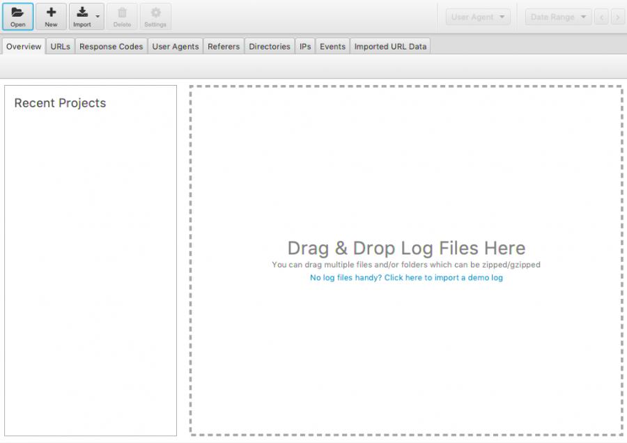 Análisis de logs con ScreamingFrog Log File Analyser