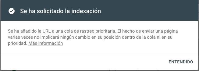 Proceso indexacion