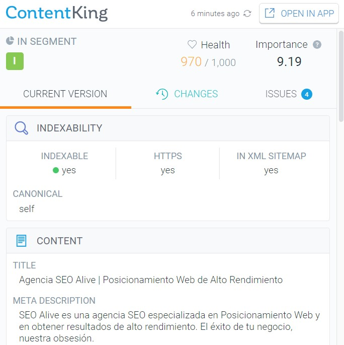 extension content king