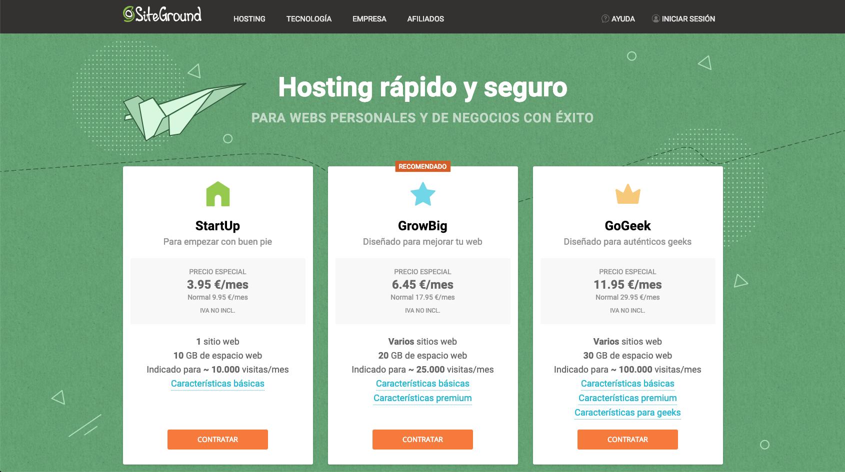 Hosting SEO para WordPress
