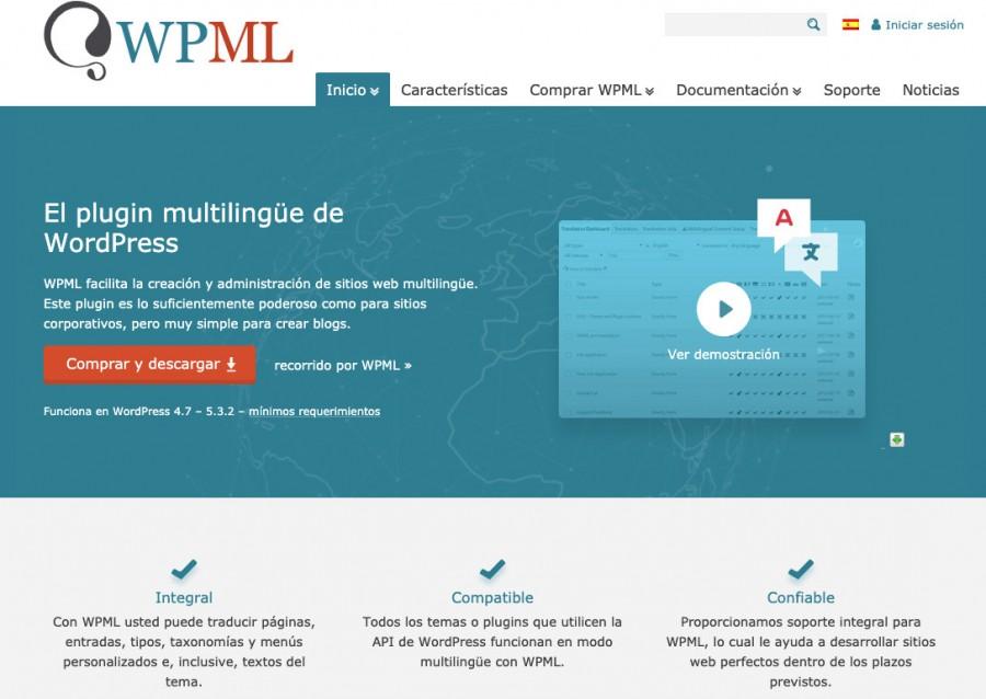 WPML para ayudarte con tu SEO internacional