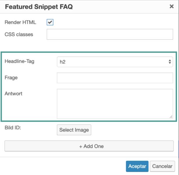 Featured Snippet FAQ