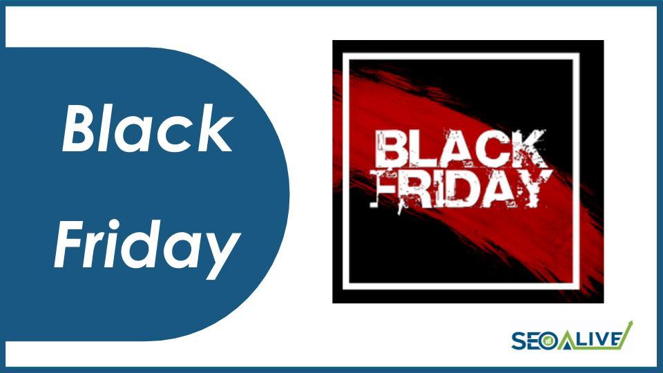 SEO para Black Friday y Cyber Monday